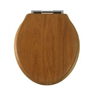 Roper Rhodes - Greenwich Soft Close Toilet Seat (Honey Oak) - 8099HOSC